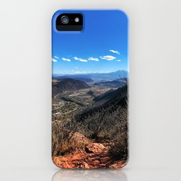 The Air Up There - Glenwood Springs, CO iPhone Case