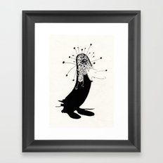 magic penguin Framed Art Print