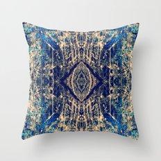 Labradorite Mineral Throw Pillow