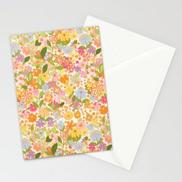 Nostalgia in the garden Stationery Cards
