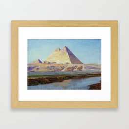 The Great Pyramid of Giza Framed Art Print