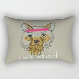 Can't bear it! Rectangular Pillow
