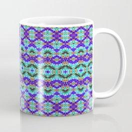 Feathery Tie Dye Coffee Mug