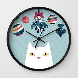 Mistletoe? Wall Clock