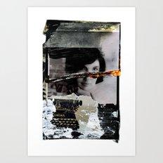 Jackie  Art Print