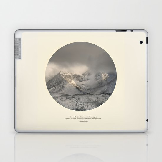 love the mountains... Laptop & iPad Skin