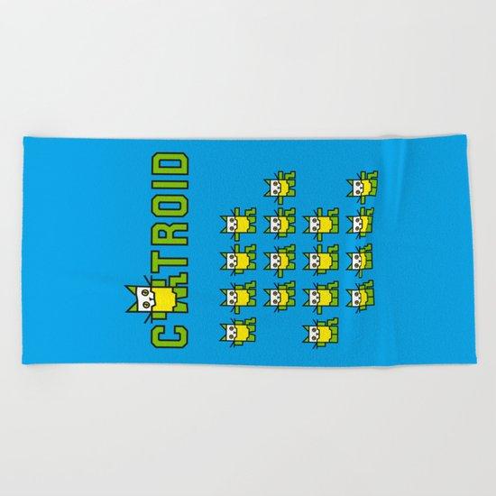 Catroid Beach Towel