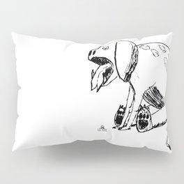 DOODLE DINO BARF DOG Pillow Sham