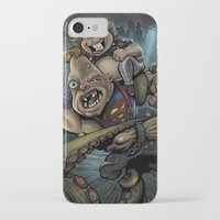 the goonies iPhone & iPod Cases featuring The Goonies by flylanddesigns