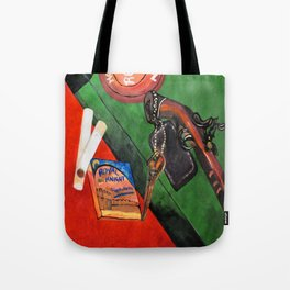 Smoking Guns 3 of 3 Tote Bag