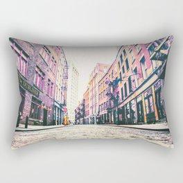 Stone Street - Financial District - New York City Rectangular Pillow
