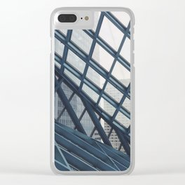 Seattle Public Library Clear iPhone Case