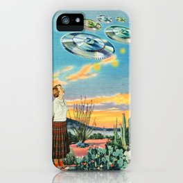 They were here before us iPhone Case