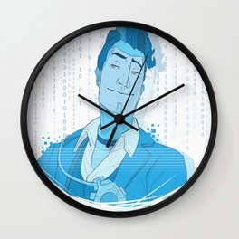 HANDSOME JACK HOLO Wall Clock