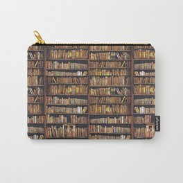 Books, books, books Carry-All Pouch