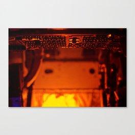 Control Canvas Print