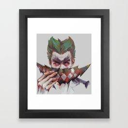 John Doe Framed Art Print