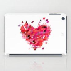 Heart1 Red iPad Case