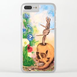 Fence of the deads Clear iPhone Case
