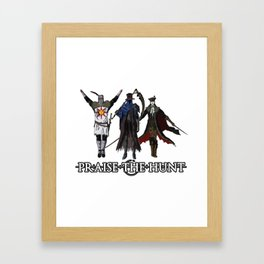 Praise the Hunt Framed Art Print