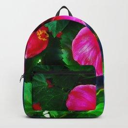 Hibiscus Portrait Backpack