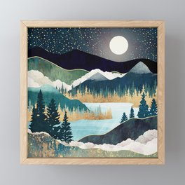 Star Lake Framed Mini Art Print