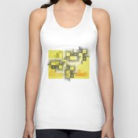 labyrinth Tank Tops featuring Labyrinth by Sally Rud