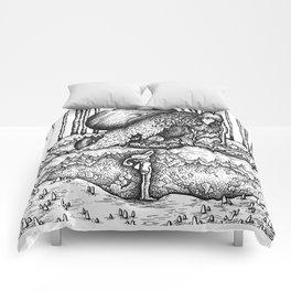 John Bauer Trollskog Comforters