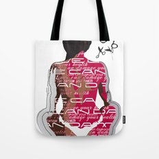 Love can damage your health Tote Bag