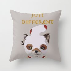 Fantastically Different  Throw Pillow
