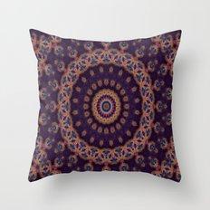 Peacock Jewel Throw Pillow