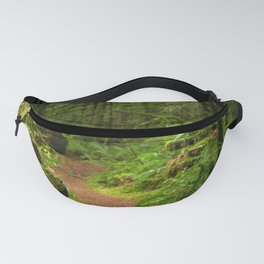 The Deep Woodland  Path... Fanny Pack