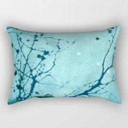 Blue Notes Rectangular Pillow
