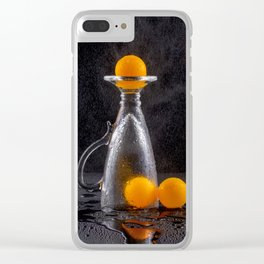 Ping-pong, the game is over. Clear iPhone Case