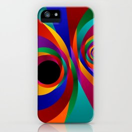 the black point -5- iPhone Case