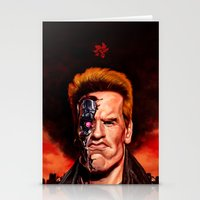 terminator Stationery Cards featuring The Terminator by UTHZEN