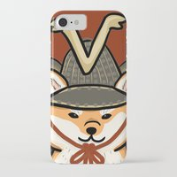 shiba iPhone & iPod Cases featuring Shiba Inu by Lottie