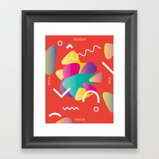 Design With Fun ~ chapter 02 Framed Art Print