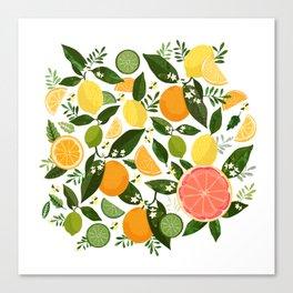 Punch Bowl Pattern Canvas Print