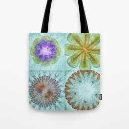 Attitudinal Proportion Flower  ID:16165-113431-66510 Tote Bag