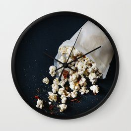Popcorns Wall Clock