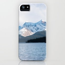 Snow Covered Mountain Photography Print iPhone Case
