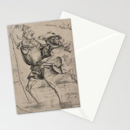St. Christopher Carrying the Christ Child Stationery Cards