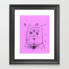gato Framed Art Print