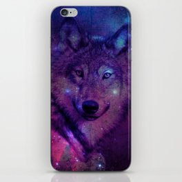 Space Wolf iPhone Skin