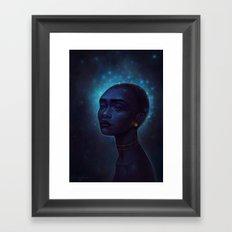 Song of the stars Framed Art Print