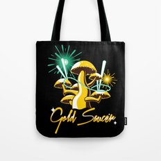 Gold Saucer Tote Bag