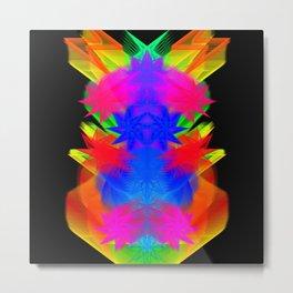 GFTNeon013 , Neon Abstract Metal Print
