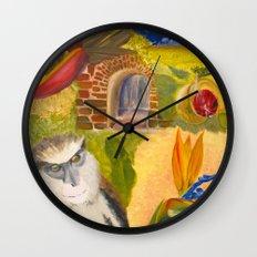 Scenes of Grenada Wall Clock
