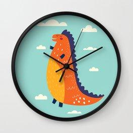 Funny Dinosaur Wall Clock